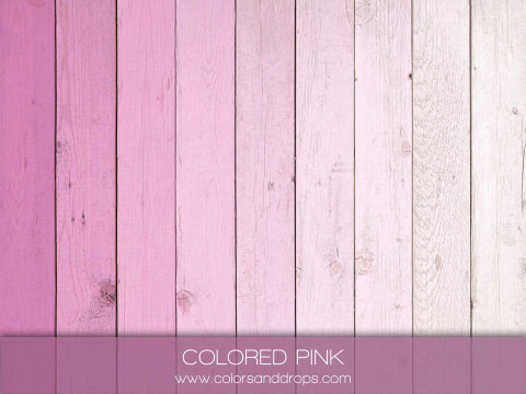 COLORED PINK