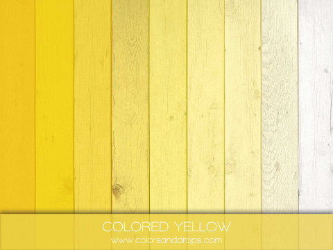 COLORED YELLOW