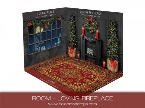ROOM - LOVING FIRE PLACE