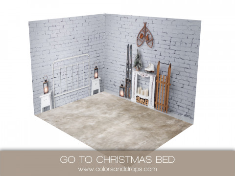 ROOM - GO TO CHRISTMAS BED