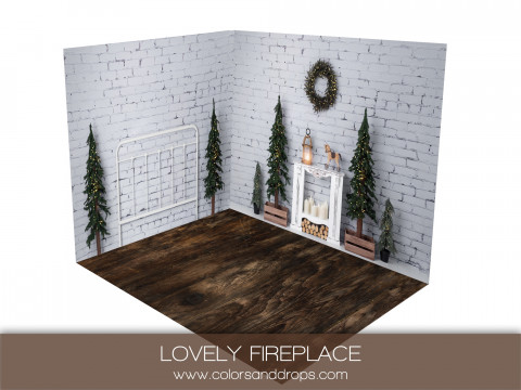 ROOM - LOVELY FIREPLACE